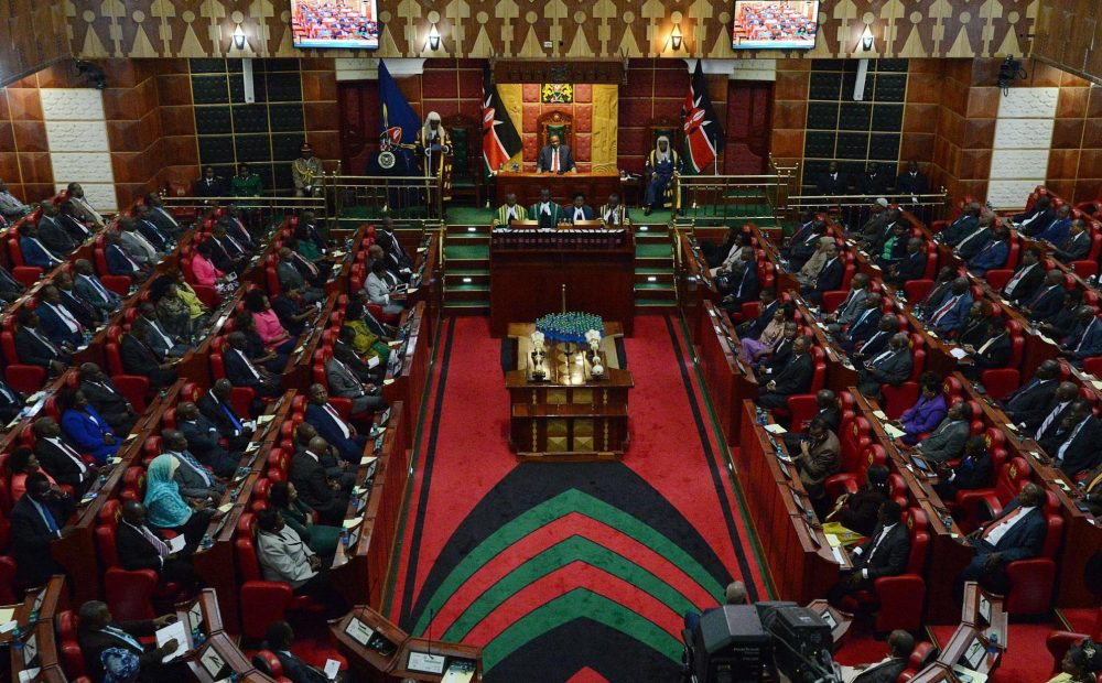 Kenyan MP arrested 'for slapping female colleague' because she wouldn't give money to his constituency 2