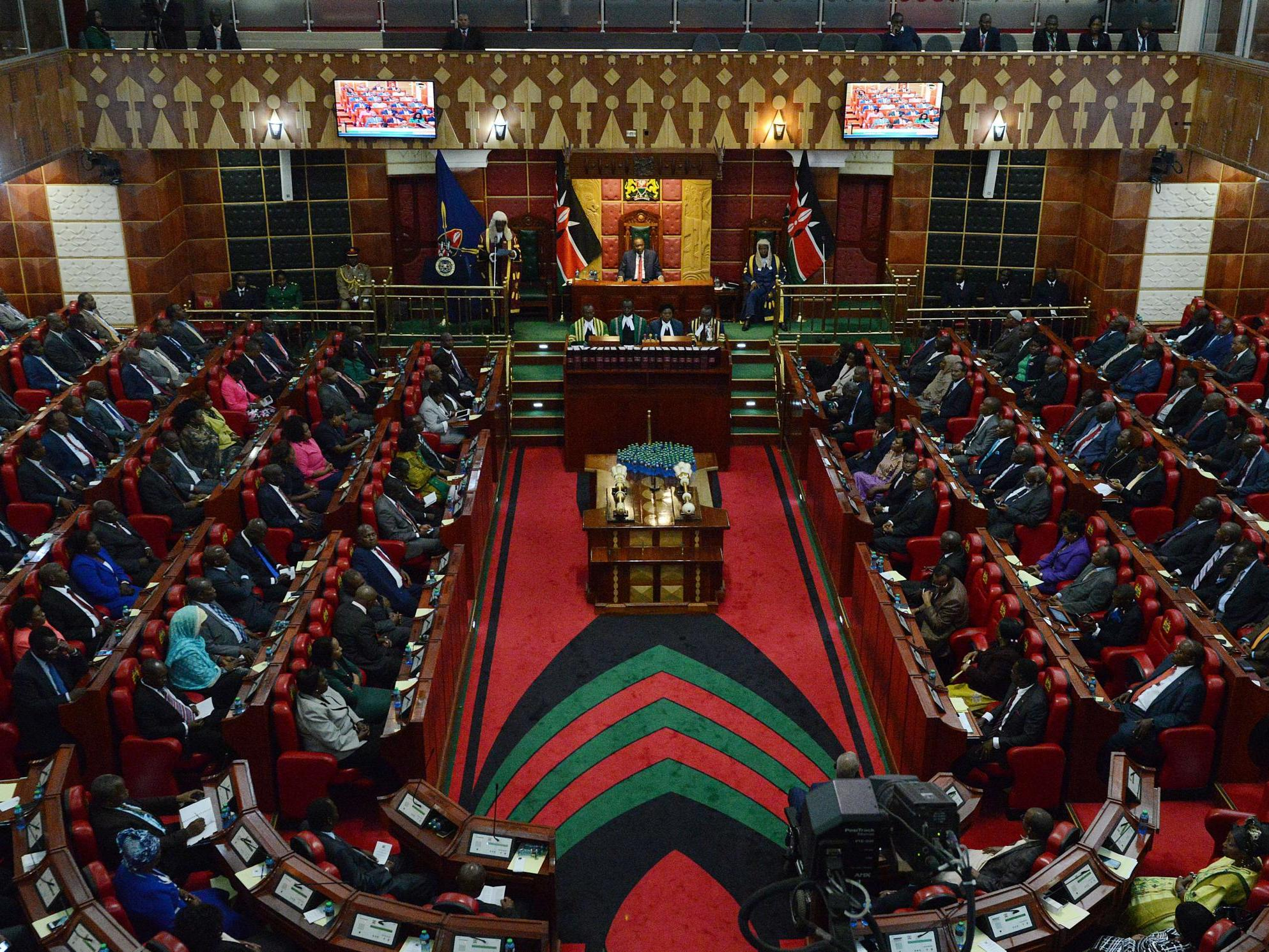 Kenyan MP arrested 'for slapping female colleague' because she wouldn't give money to his constituency 3