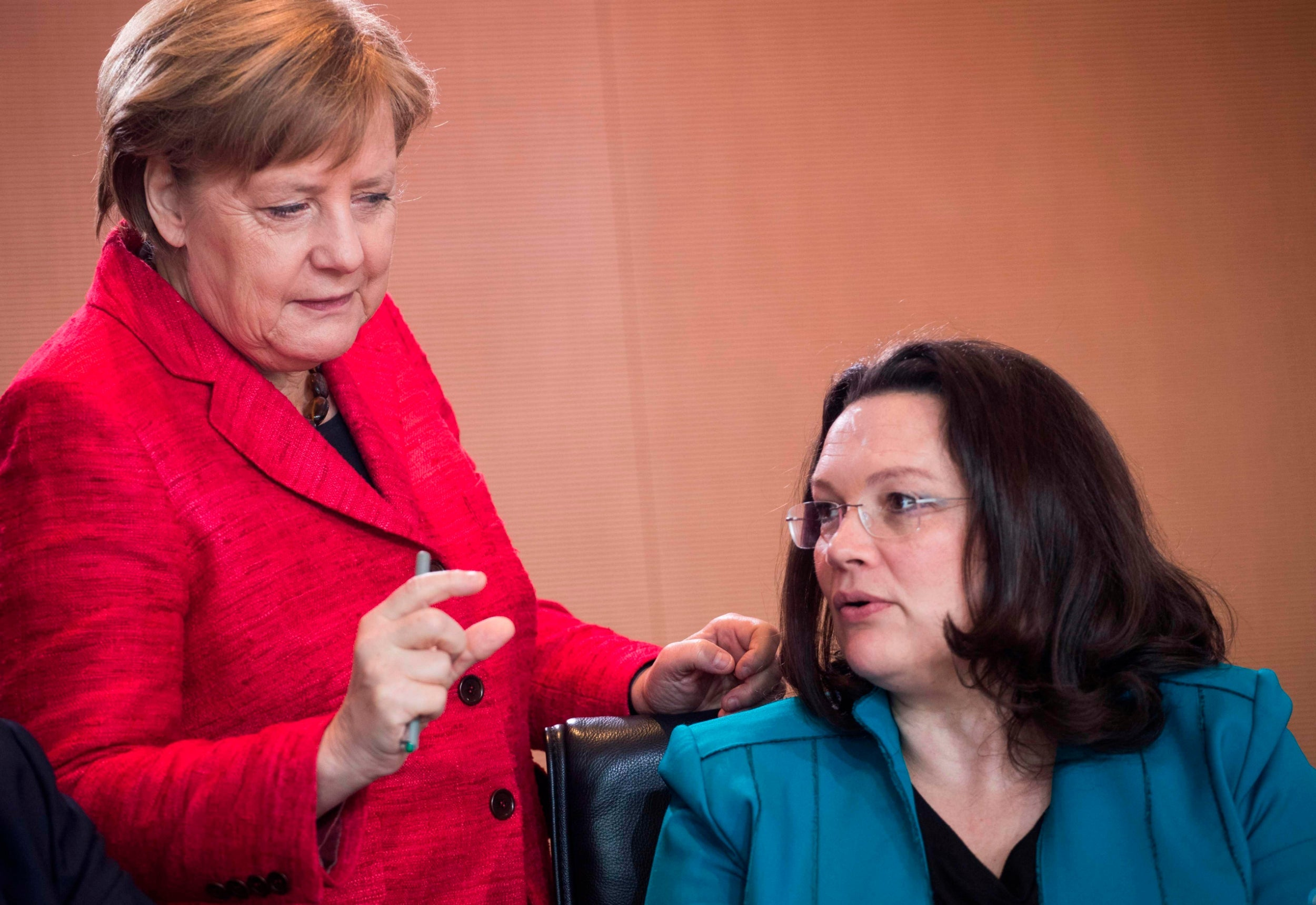 Merkel's government facing collapse as her coalition partner resigns over election disaster 6