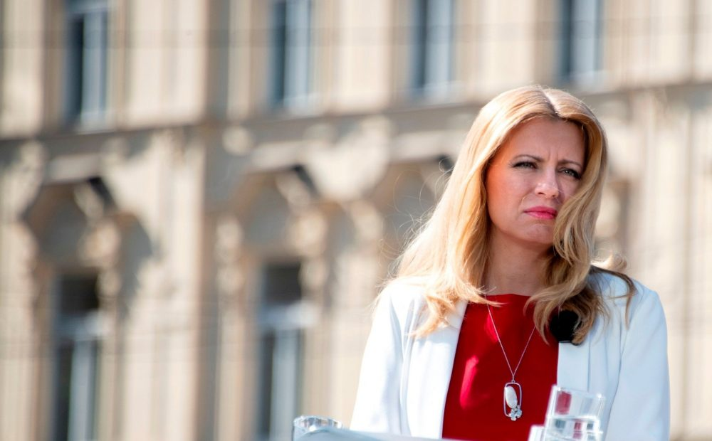 Slovakia's first female president takes office in a divided country 5