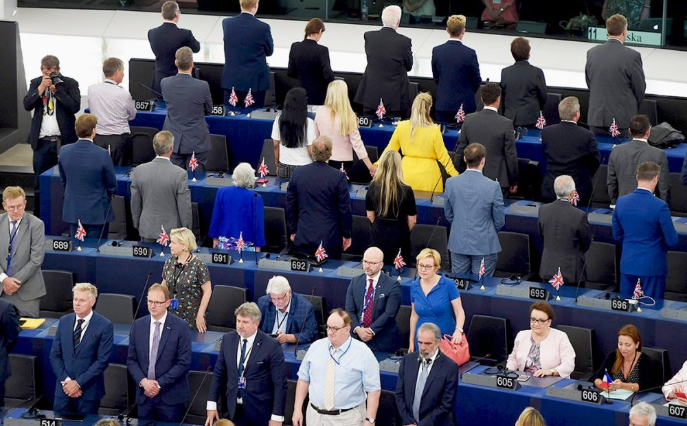 Brexit Party MEPs branded 'extremists' for Ode to Joy stunt: 'We would never turn our back on the British anthem' 1