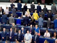 Brexit Party MEPs branded 'extremists' for Ode to Joy stunt: 'We would never turn our back on the British anthem' 25